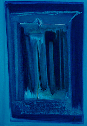 1. Acrylique et pastels sur toile marouflée 70x90 - 2004 - Anouk Julien