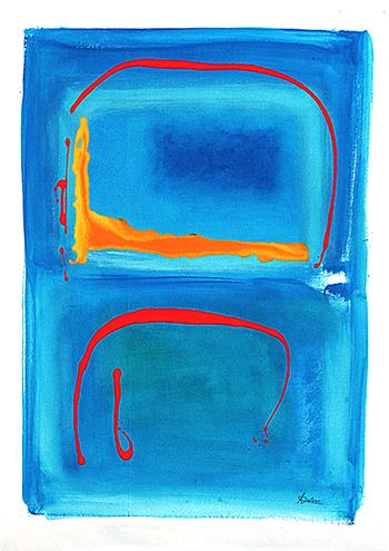 2. Acrylique sur toile marouflée 70x90 - 2004 - Anouk Julien