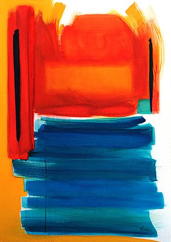 3. Acrylique sur toile marouflée 70x90 - 2004 - Anouk Julien
