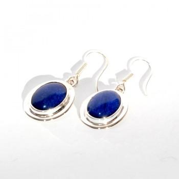 Boucle Lapis Lazuli QUETZAL CREATION