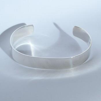 Bracelet Argent Lisse QUETZAL CREATION