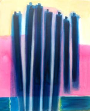 Acrylique sur toile, 60cmx73cm 2010