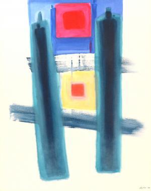 Acrylique sur toile, 70x90cm 2010