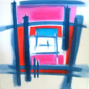 Acrylique sur toile, 100x100cm, 2010