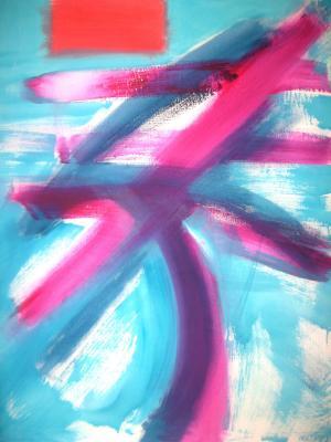 Acrylique sur toile, 90x115cm 2010